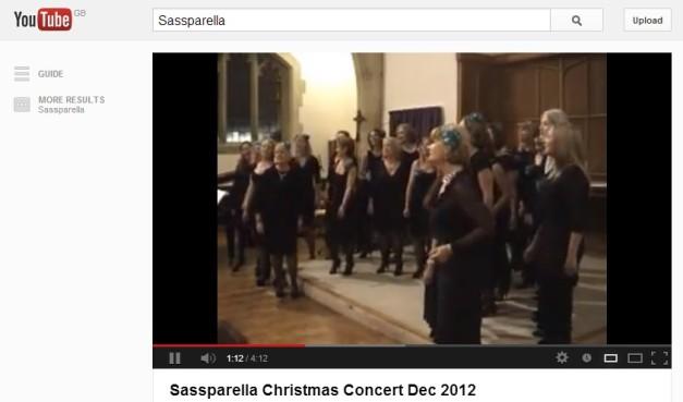 sass concert