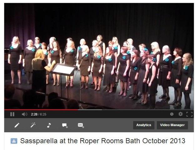 Sassparella at the Roper Rooms Bath 2013